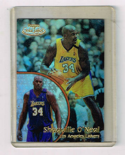 Image for Shaquille O'Neal   2000-01 Topps Gold Label Class 1 Lakers Basketball Card #34