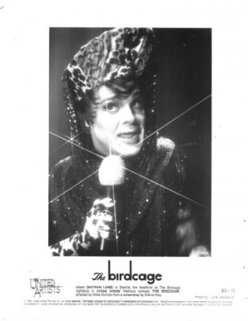 Image for 1996 The Birdcage Movie Promo T.V. Film Press Kit photos / Lobby Card Robin Williams (Lot of 5)