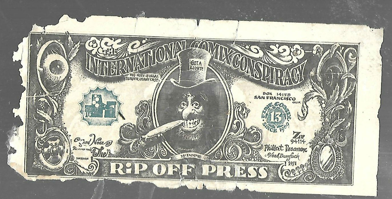 Image for Rip-off press currency