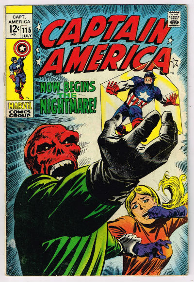 Image for CAPTAIN AMERICA #115    1969 | VOLUME 1 | MARVEL