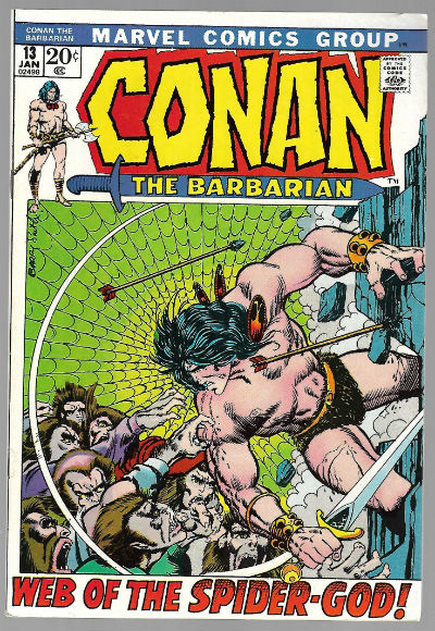 Image for CONAN THE BARBARIAN #13   1970-1994 |  VOLUME 1 |  MARVEL