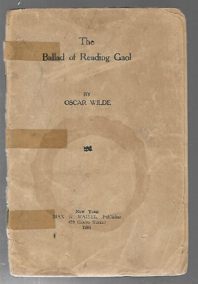 Image for The Ballad of Reading Gaol-Oscar Wilde