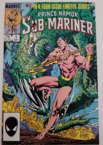 Image for Prince Namor the Sub-Mariner #1 and #2 of 4