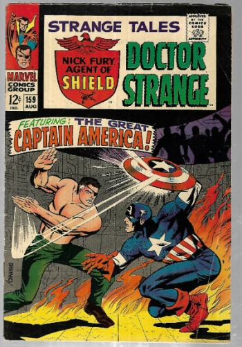 Image for Strange Tales (1967) 1st Series) #159