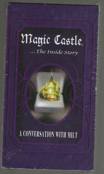 Magic Castle.the inside storyA conversation with Milt VHS sealed