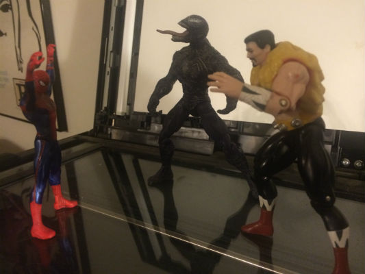 Image for Nice set of 3 Marvel action figures;Spider-man,Kraven and Venom
