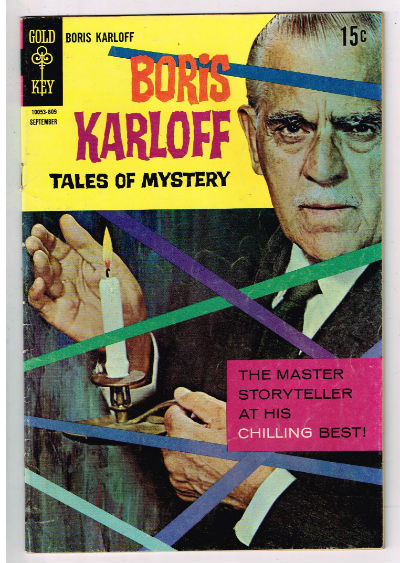 Image for Boris Karloff:Tales of Mystery #23