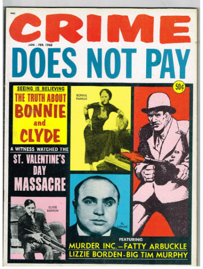 Image for Crime Does Not Pay - January/February, 1968  vol.1,#10
