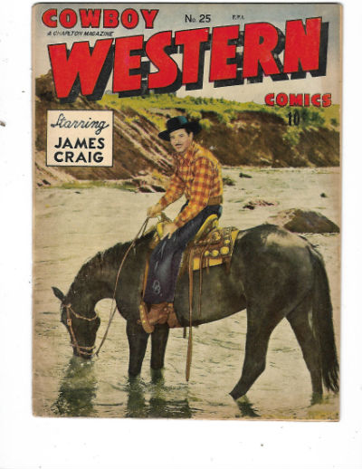 Image for COWBOY WESTERN COMICS #25   1948-1953 |  VOLUME 1 |  CHARLTON