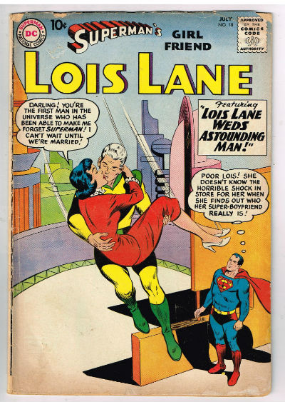 Image for SUPERMAN'S GIRLFRIEND LOIS LANE #18    1960,july | VOLUME 1 | DC