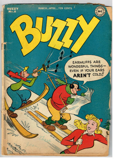 Image for BUZZY #6    1946;march/april| VOLUME 1 | DC