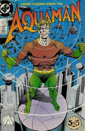Image for AQUAMAN #5    1989 |part 5 of f of a MINI-SERIES | DC