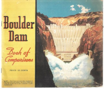 Image for  Boulder Dam Book of Comparisons
