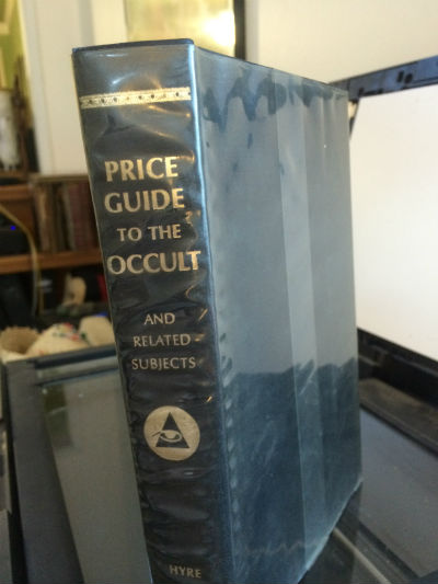 Image for Price guide to the Occult and  related subjects-signed by compiler Eli Goodman