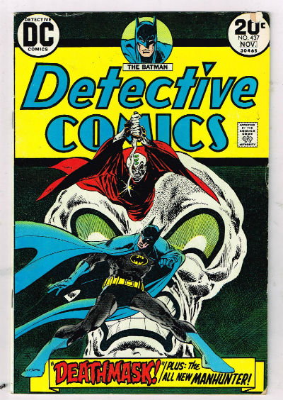 Image for DETECTIVE COMICS #437   1937-CURRENT |  VOLUME 1 |  DC