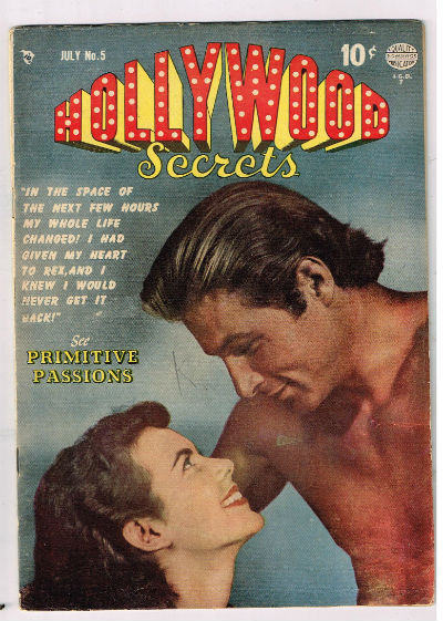 Image for HOLLYWOOD SECRETS #5    July,1950 | VOLUME 1 | QUALITY COMICS GROUP