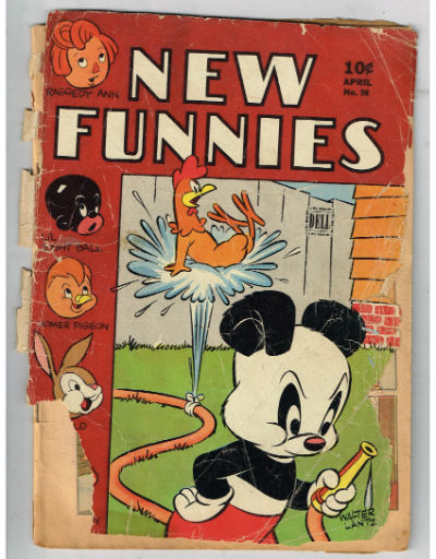 Image for NEW FUNNIES (TV FUNNIES) #98    1945,April| VOLUME 1 | DELL