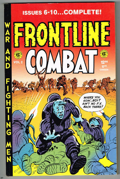 Image for Frontline Combat Annual TPB (1996-1998 Gemstone) #2-1ST