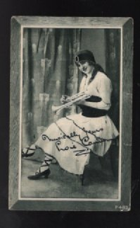 Image for Famous WW1 Female Impersonator;Mr.Loie Conn in postcard format.  (P.483)