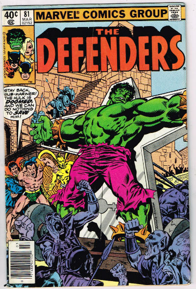Image for the Defenders #81