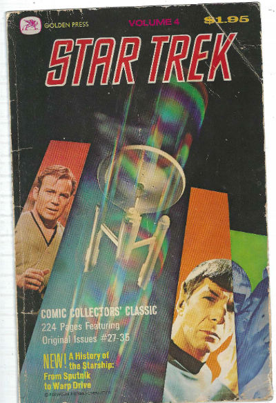 Image for Volume 4 Star Trek Comic Collectors' Classic 224 Pages Featuring Original Issues #27-35