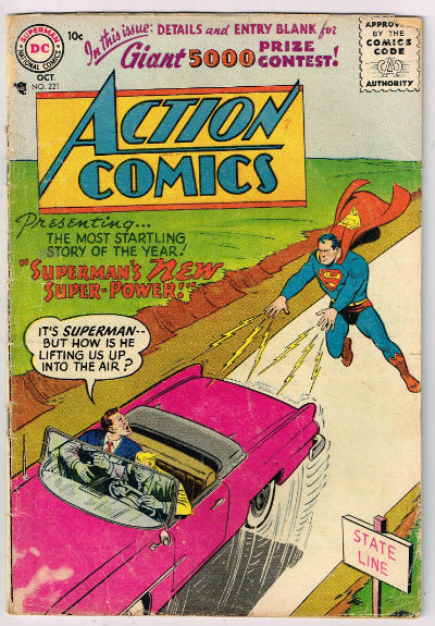 Image for ACTION COMICS #221    1956,oct. | VOLUME 1 | DC