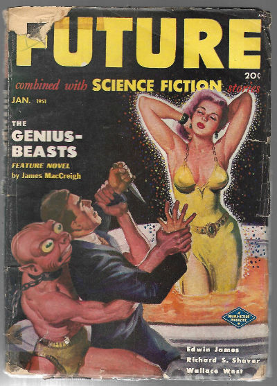 Image for Future Combined with Science Fiction Stories (January 1951)  by Edwin James (Author)