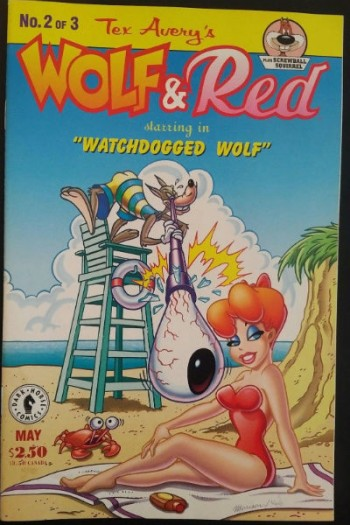 Image for Tex Avery's Wolf and Red no.2 of 3 plus Screwball Squirrel
