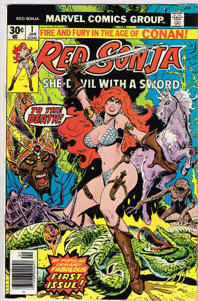 Image for RED SONJA #1    1977