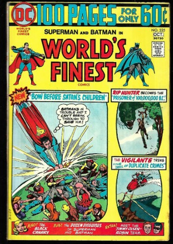 Image for World's Finest #225
