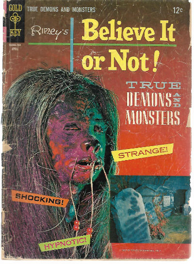 Image for Ripley's Believe It or Not (1967 Gold Key
