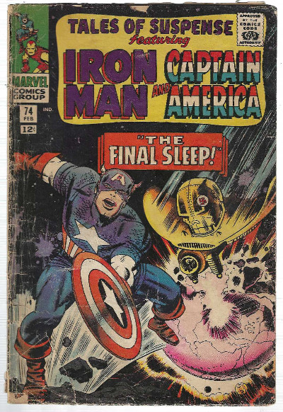 Image for Tales of Suspense #74: featuring Iron Man and Captain America
