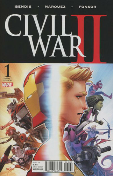 Image for CIVIL WAR II #1J    2016 | MAXI-SERIES | MARVEL