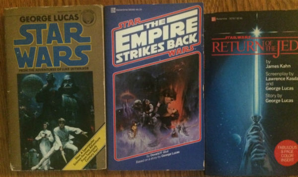 Image for Star Wars trilogy:Star Wars,The Empire strikes back and the return of the Jedi in paperback