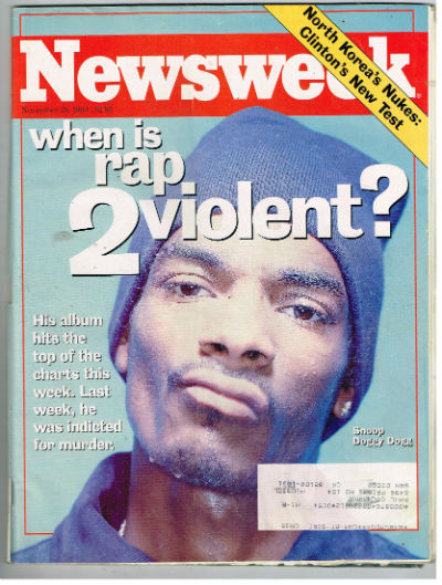 Image for Snoop Dogg in Newsweek