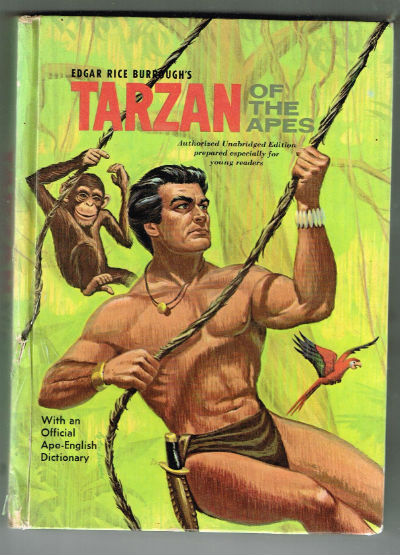 Image for Edgar Rice Burroughs Tarzan of the Apes - Authorized Unabridged Edition Prepared for Young Readers with an Official Ape-English Dictionary