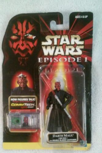 Image for Hasbro-Star-Wars-Episode-1-Darth-Maul-Jedi-Duel-Action-Figure