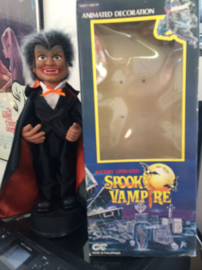 Image for battery Operated Spooky Vampire  extremely annoying please do not buy:FREE SHIPPING!!!