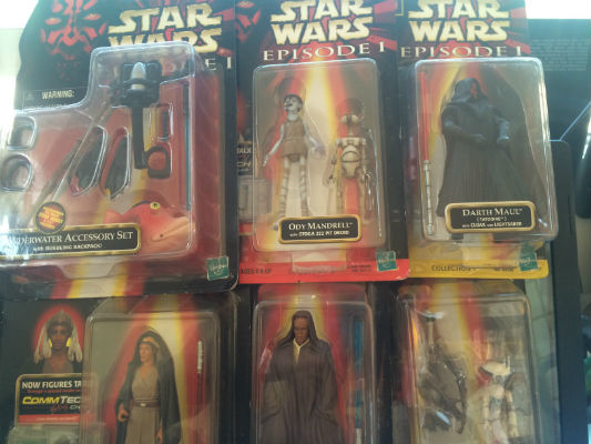 Image for Star Wars episode 1 action figure 6 pak!!!!!!!!