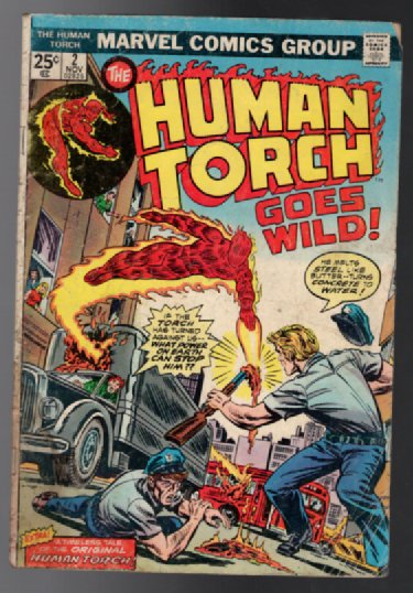 Image for Human Torch #2