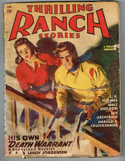 Image for Thrilling Ranch Stories