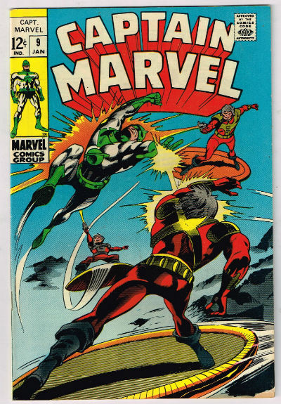 Image for CAPTAIN MARVEL #9    1968-1979 | VOLUME 1 | MARVEL