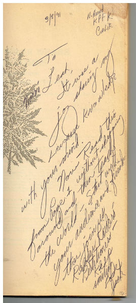 Image for The Emperor Wears No Clothes: Hemp and the Marijuana Conspiracy by Jack Herer-signed by Jack Herer with anice note from Jack herer to Naomi Leach of KPFK (1990)