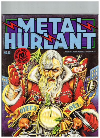 Image for Metal Hurlant (French Magazine) Vol. 1 No. 12