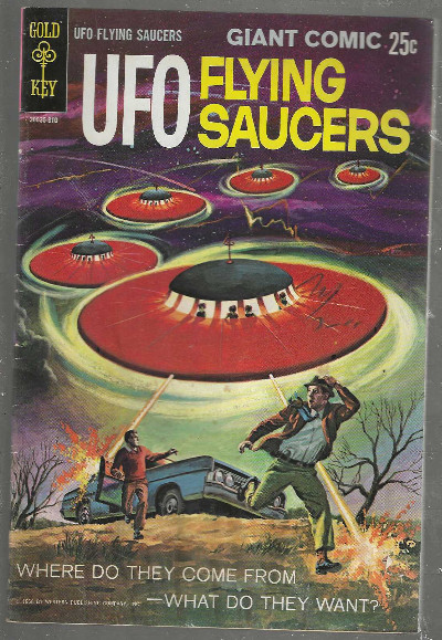 Image for UFO FLYING SAUCERS #1:GIANT COMIC