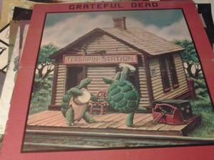 "Image for Grateful Dead,Terrapin Station Giannt poster on thick card that folds in half,measuring al-7001 ;36""x36"""