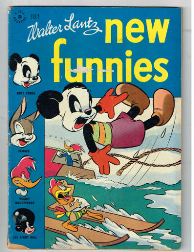 Image for NEW FUNNIES (TV FUNNIES) #125    1947,july | VOLUME 1 | DELL