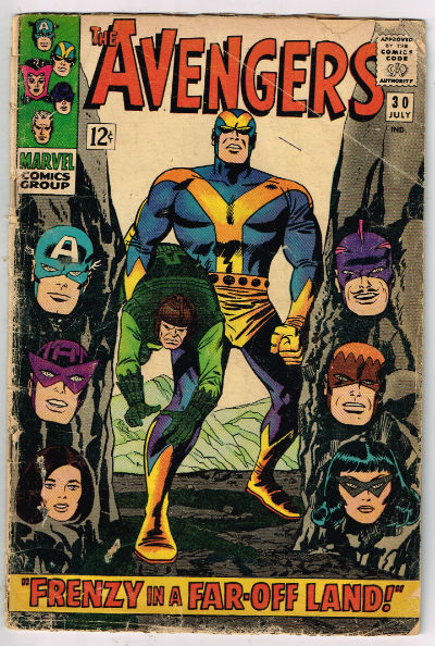 Image for AVENGERS #30    1966,July | VOLUME 1 | MARVEL