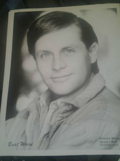 "Image for Burt ward 8""x10"" B&W headshot"