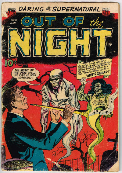 Image for OUT OF THE NIGHT #12    1953| VOLUME 1 | AMERICAN COMICS GROUP